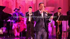 José James performing at the Fifty Shades Darker Masquerade Ball! #fiftyshades #fiftyshadesdarker