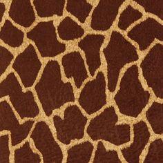 Giraffe Print Upholstery Fabric Contemporary Animals Pattern