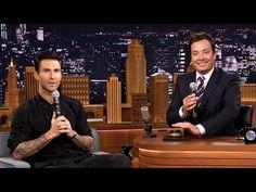 "Adam Levine Nails Michael Jackson Impression on ""The Tonight Show"" | tooFab.com"