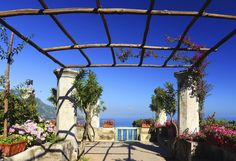 The most romantic places on earth The Decameron, Amalfi Coast Italy, Most Romantic Places, Colourful Buildings, Fair Grounds, Outdoor Structures, Earth, Outdoor Decor, Travel