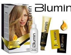 Blumin Hair Color Permanent Bright Anti-Aging Color Essential Oils Liquid Gold