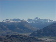 Blick vom Roys Peak Neuseeland