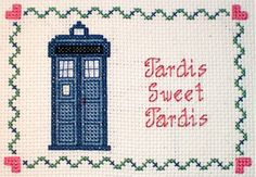 dr who cross  @Amanda Bergeron-Manzone Want this to be your Christmas present?