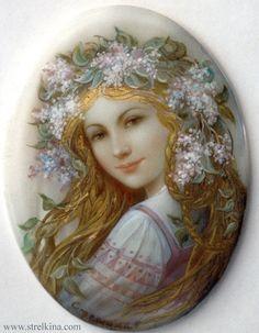 """Lilac Diadem"" par Nadia Strelkina"