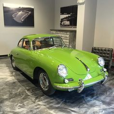 """1965 #porsche #356 SC """"paint to Sample"""" just arrived"""