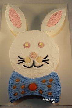 Bunny Cut Up Cake Pattern