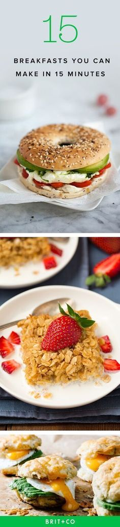 Unbelievable Start your day right with these quick and easy breakfast recipes. The post Start your day right with these quick and easy breakfast recipes. appeared first on Kiynos Recipes . Breakfast Desayunos, Breakfast Dishes, Healthy Breakfast Recipes, Brunch Recipes, Healthy Snacks, Healthy Recipes, Brunch Food, Healthy Brunch, Breakfast Casserole