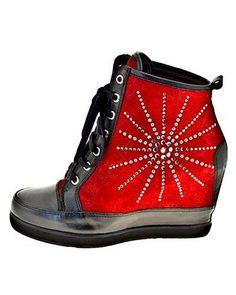 Roberto Botella Leather Platform Booties - Booties - Shoes at Viomart.com