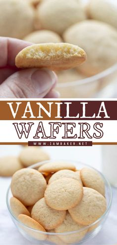 Vanilla Wafers are made with the freshest ingredients and tastes better than store-bought ones. This new dessert recipe is made with just a few simple ingredients. Enjoy this quick and easy dessert idea as a snack! Learn how to make these homemade wafers! Elegant Desserts, Desserts For A Crowd, Fancy Desserts, Beautiful Desserts, Delicious Desserts, Yummy Food, Tasty, New Dessert Recipe, Dessert Recipes