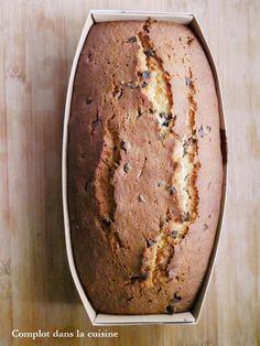 Cake amande - pépites de chocolat