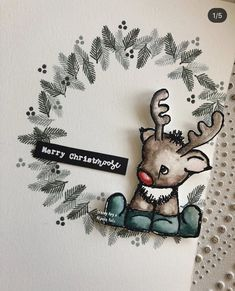 Christmas Cards, Christmas Stuff, Friendship Cards, Lawn Fawn, Pencil Drawings, Making Ideas, Moose, Card Ideas, Card Making
