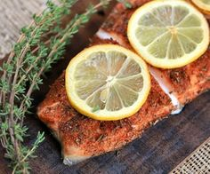 Quick and easy marinated salmon fillets, what a hit