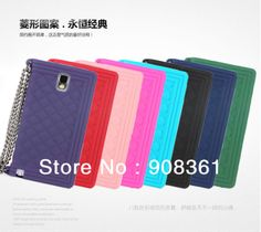 New Silicone handbag case cover for Samsung galaxy Note 3 N9000 case with chain,  Free shipping $7.99.http://www.aliexpress.com/store/908361