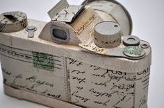 Stunning objects made of found & recycled paper by Jennifer Collier