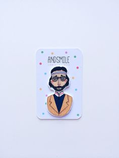 Richie Tenenbaum Badge by andsmile on Etsy, £7.00