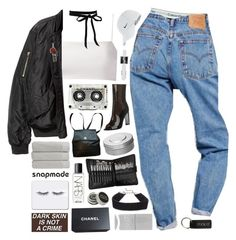 """""""why don't you be the you that you know you are"""" by celhestial ❤ liked on Polyvore featuring Chanel, Giuliana Romanno, Calvin Klein, NIKE, adidas, DANNIJO, Sephora Collection, Christy, NARS Cosmetics and Hermès"""