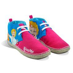 Las #espadrilles #Monroe son para una chica divertida y encantadora  las puedes comprar en www.espadrilleskissme.com