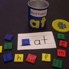 Word family center