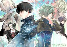 Tokyo Ghoul :re 69 - Melody Haise, Tsukiyama, Ayato, Yomo Tokyo Ghoul, Ken Tokyo Ghoul, Kaneki, Manga Art, Anime Manga, Anime Art
