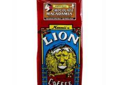 Lion Coffee Chocolate Macadamia Light Medium Roast 10oz
