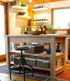 Build Michaela's Kitchen Island