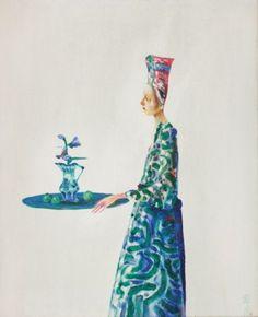 Artist Stefan Caltia - FindArtinfo Paper People, Antique Paint, Art Auction, Jewelry Art, Jewellery, Ancient Art, Art Pictures, Modern Art, Disney Characters