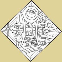stained glass amerindian | Stained Glass Ordering Northwest Coast Native American Indian Kwakwaka ...