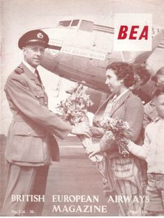 BEA MAGAZINE JUNE 1959 BRITISH EUROPEAN AIRWAYS STAFF MAG
