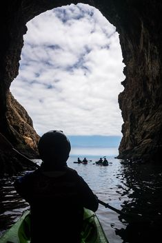 "HAPPY FATHER'S DAY! To celebrate, we're offering $50 tomorrow's Painted Cave Kayak Adventure when you book for 2 or more people. Call (805) 884-9283 to reserve or use online code ""FDAY16."" Cheers, Dads!  http://www.sbadventureco.com/adventures/channel-islands/  PC: Aaron Echols"