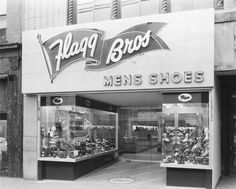 Flagg Brothers Shoe Store.  Wilmington, Delaware.  8400-000-002 #698.  Delaware Public Archives.  archives.delaware.gov