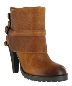 Take a look at this Cognac Benita Boot by MIA Shoes on #zulily today!