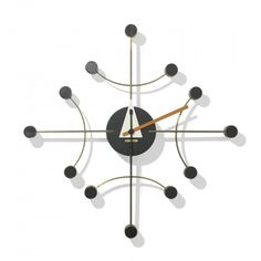George Nelson & Associates, Wall Clock for Howard Miller, c1957.
