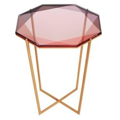 Debra Folz Gem Side Table | From a unique collection of antique and modern side tables at https://www.1stdibs.com/furniture/tables/side-tables/
