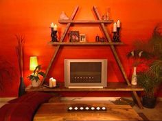 How To: Building An A-frame Entertainment Center