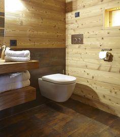 Tess WC im Hotel Adler Montain Lodge auf der Seiser Alm