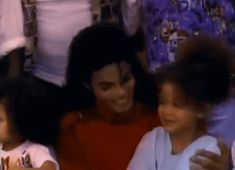 pinkcloudturnedtogrey: Michael Jackson with his niece Brandi in '2300 Jackson Street'