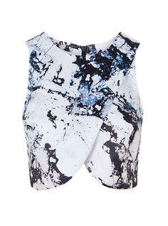 Trend alert: marble print Topshop $94 http://en.louloumagazine.com/fashion/fashion-trends/trend-alert-marble-print/ / Alerte tendance: l'imprimé marbré Topshop 94 $ http://fr.louloumagazine.com/mode/tendances-mode/alerte-tendance-limprime-marbre/