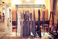Alex and Carmen | Vintage Estate Wedding | Yountville, Ca | Brides' Maids Dresses | Grey | Joanna August | Wedding Party Ideas
