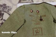 Мастер-класс: модный пиджак для Тедди - Ярмарка Мастеров - ручная работа, handmade