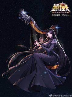Pandora by on - imágenes de anime - Hand werk Hades, Art Anime, Manga Anime, Female Characters, Anime Characters, Knights Of The Zodiac, Manga Comics, Manga Drawing, Fantasy Girl