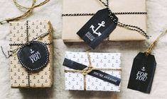 Printable nautical gift wrap from Hey Look blog