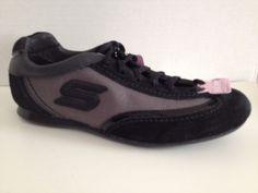 Skechers Wedge Fit Shoes Womens Size 6 Black Sneakers 48765 | eBay