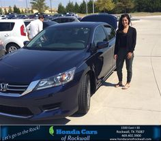 #HappyBirthday to Monica from Paige Simms at Honda Cars of Rockwall!  https://deliverymaxx.com/DealerReviews.aspx?DealerCode=VSDF  #HappyBirthday #HondaCarsofRockwall