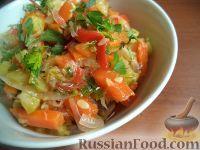 Фото к рецепту: Рагу из кабачков