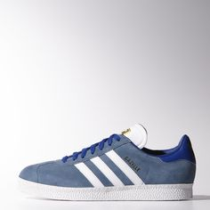 new product a2c74 42c6f adidas Gazelle 2.0  Stonewash Blue Snicker Shoes, Adidas Runners, Striped  Shoes, Adidas