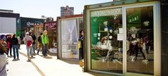 Creating Shops from Shipping Containers