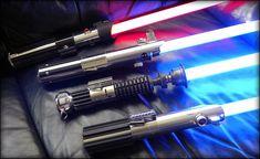 Bradley's Homemade Star Wars Lightsaber Replicas