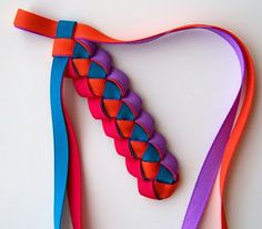 4 Color Braided Headband