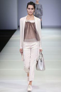 Giorgio Armani, Весна-лето 2015, Ready-To-Wear, Милан