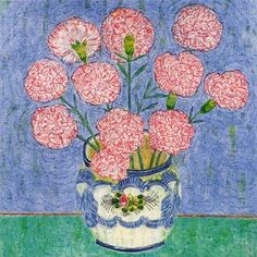 CARNATIONS LEONARD McCOMB - A fantastic range of Carnations Leonard Mccomb from Calliope Gifts in our selections of giftware, homeware, toys and books. Watercolor Art, Art Painting, Wallpaper, Illustration, Flower Art, Painting, Flower Power, Art, Abstract
